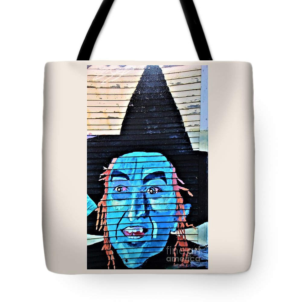 Wicked Witch Of The West Wizard Of Oz Tote Bag featuring the photograph Wicked Good by Karen Velsor
