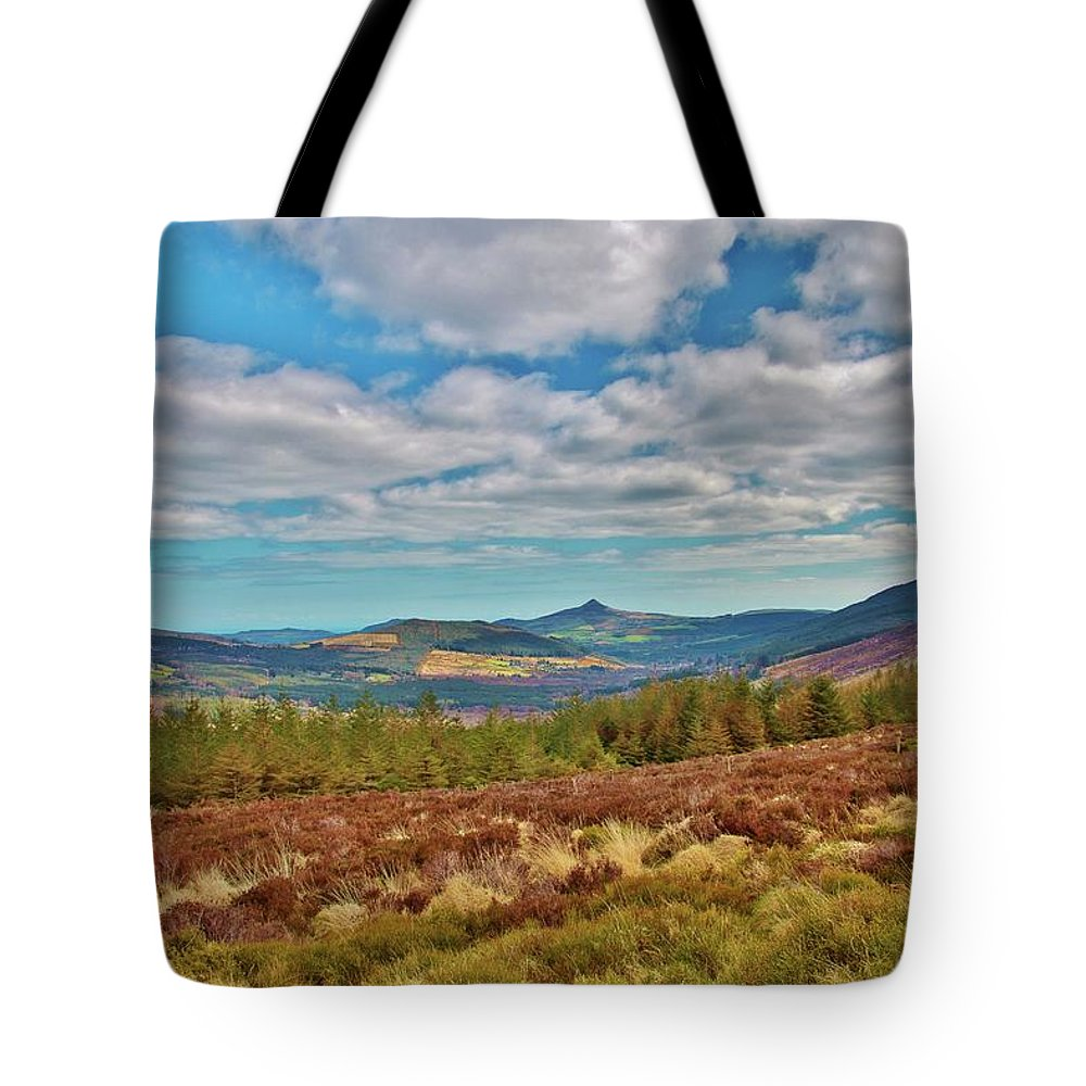 Wicklow Mountains Tote Bag featuring the photograph Wicklow Mountains by Marisa Geraghty Photography