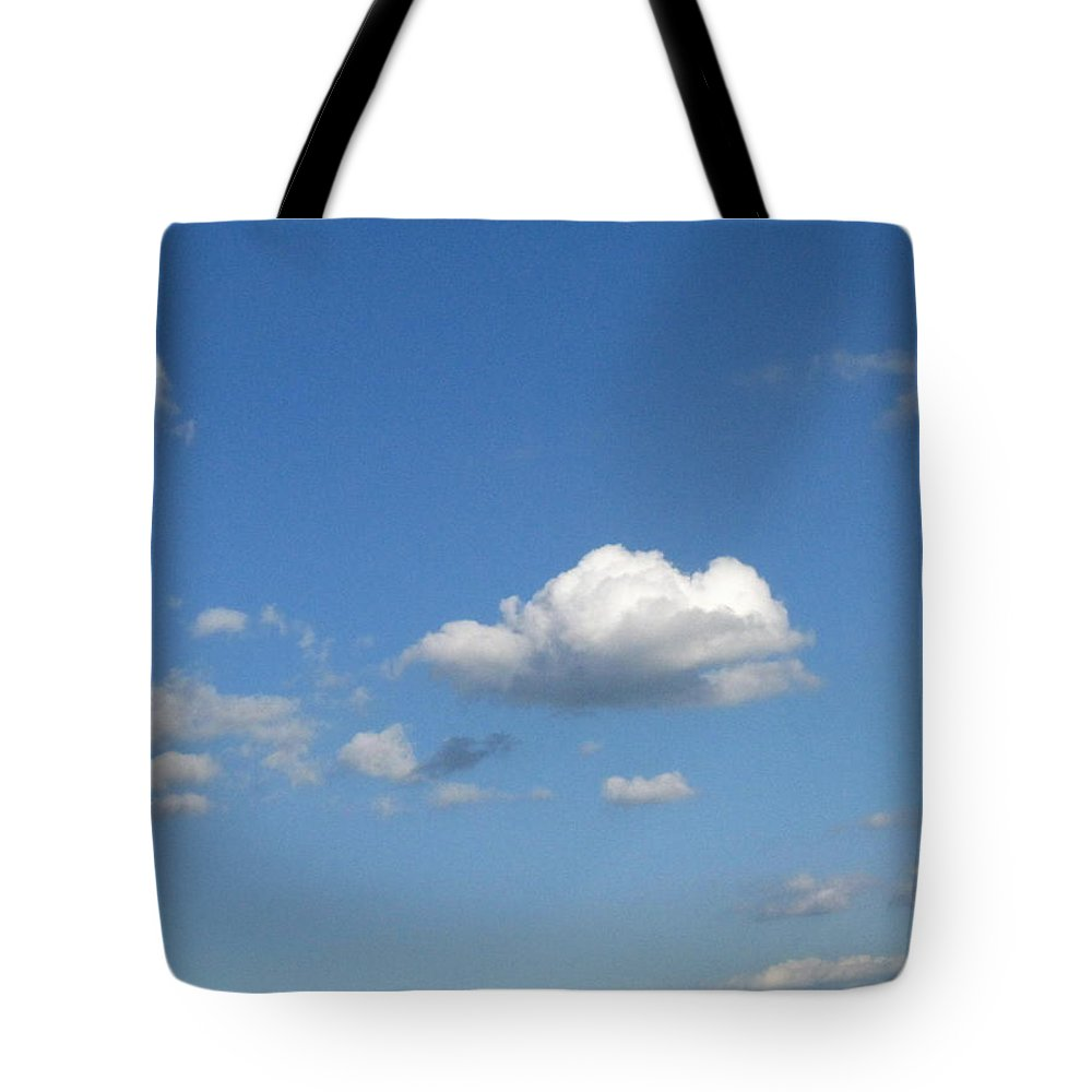 Clouds Tote Bag featuring the photograph Wide Open by Rhonda Barrett