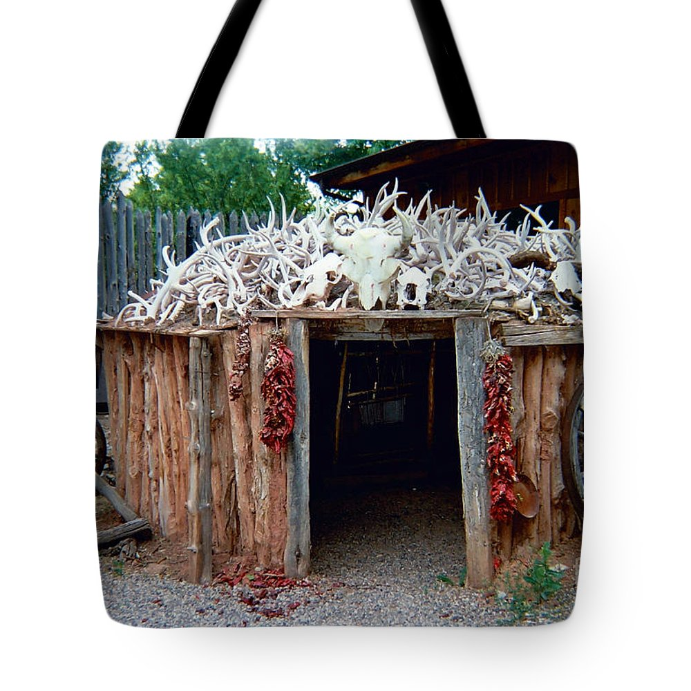 Wigwam Tote Bag featuring the photograph Wigwam by Louise Magno