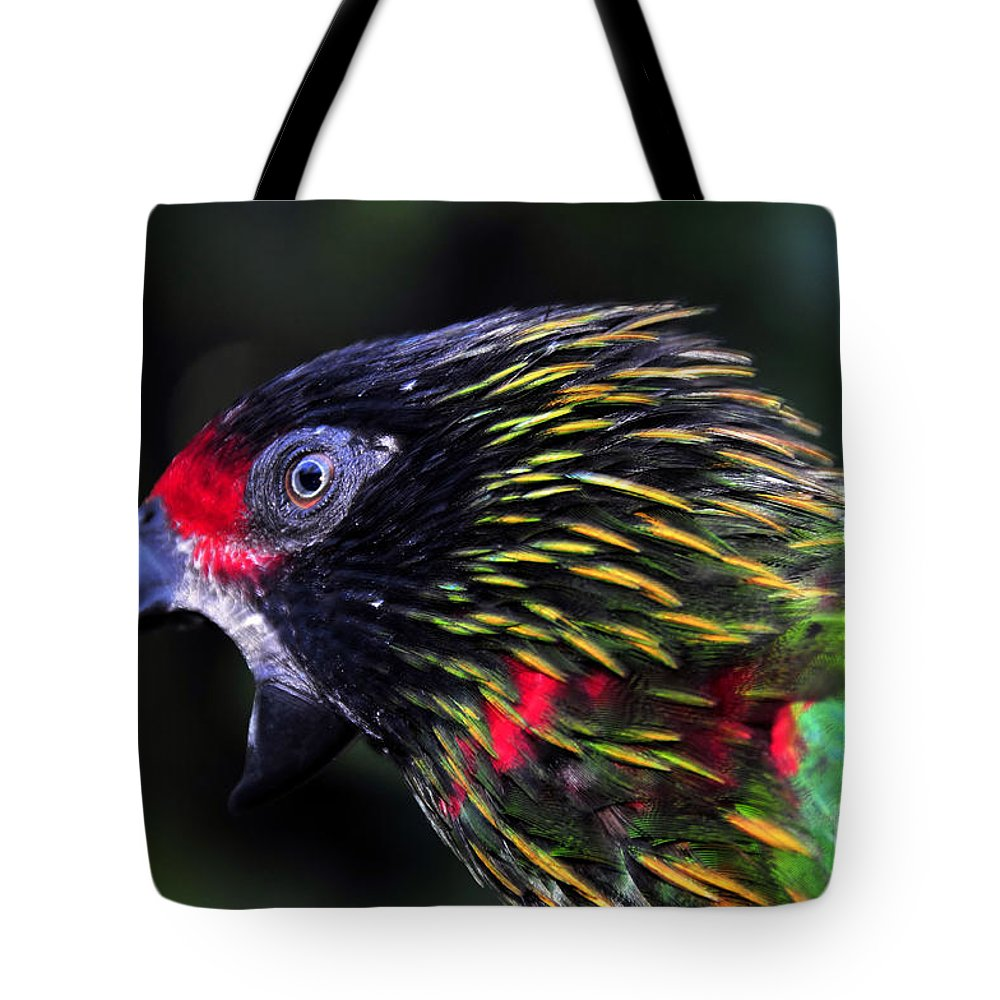 Bird Tote Bag featuring the photograph Wild Bird by David Lee Thompson