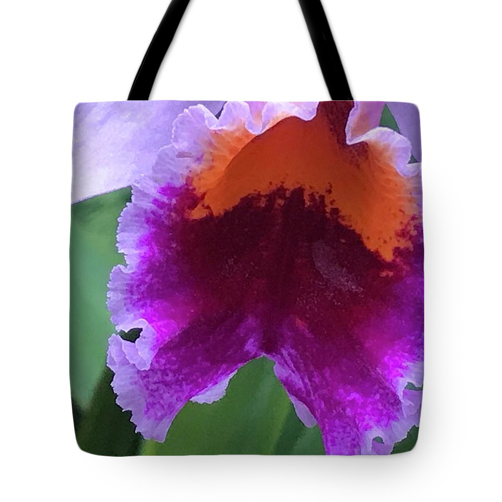 Flowers Tote Bag featuring the photograph Wild Color by Jean Wolfrum