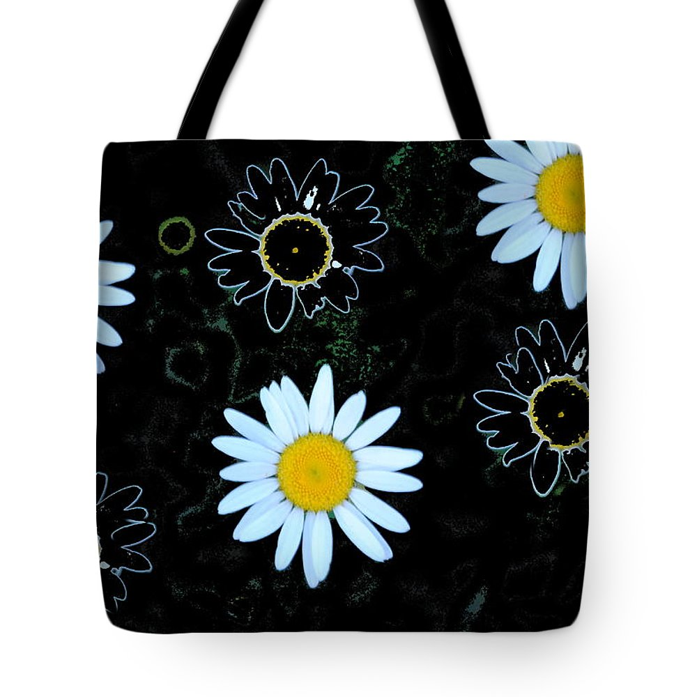 Daisy Tote Bag featuring the photograph Wild Daisy by Eric Liller