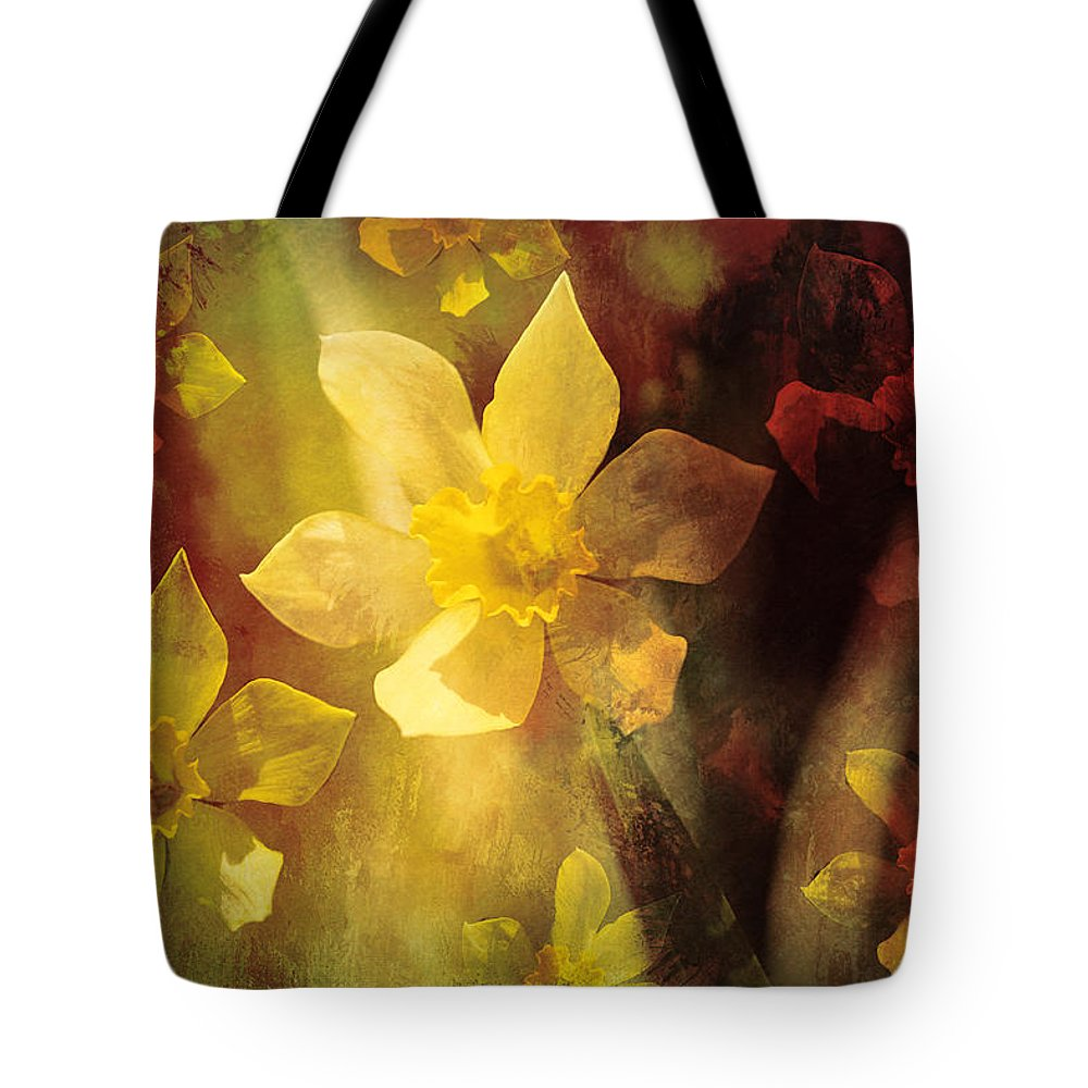 Tote Bag featuring the photograph Wild Fire by Theresa Campbell
