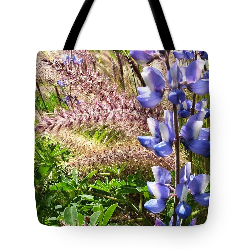 Flower Tote Bag featuring the photograph Wild Flower by Shari Chavira
