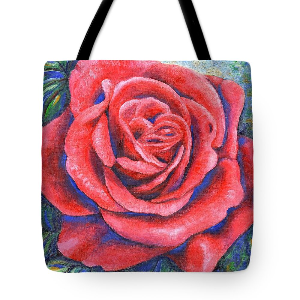 Flower Tote Bag featuring the painting Wild Rose Three by Linda Mears