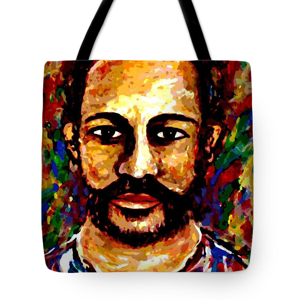Expressionism Tote Bag featuring the digital art Wild Spirit by Natalie Holland