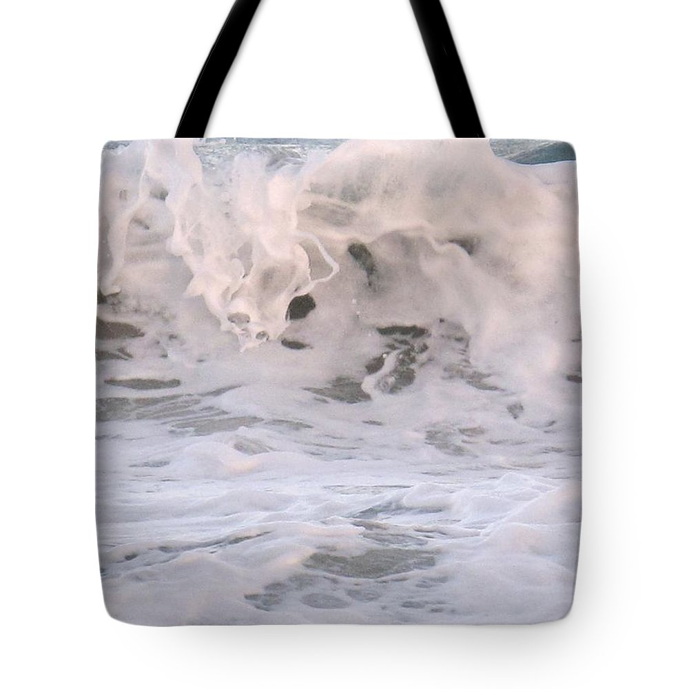 Surf Tote Bag featuring the photograph Wild Surf by Ian MacDonald