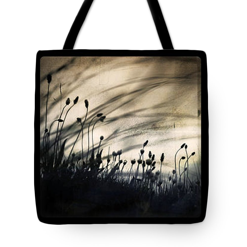 Grass Mood Triptych Wild Art Fineart Dorit Nature Tote Bag featuring the photograph Wild Things by Dorit Fuhg