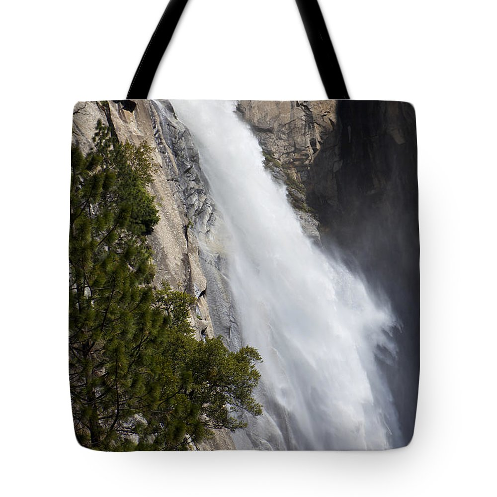 Wildcat Falls Tote Bag featuring the photograph Wildcat Falls by Garry Gay
