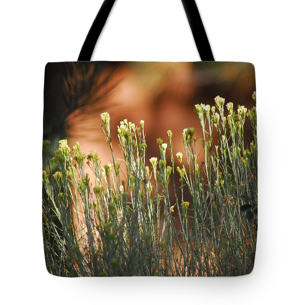 Flowers Tote Bag featuring the photograph Wildflowers by Cheryl Kostanesky