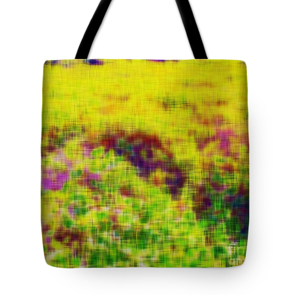 Wildflowers Tote Bag featuring the photograph Wildflowers by Stefan H Unger