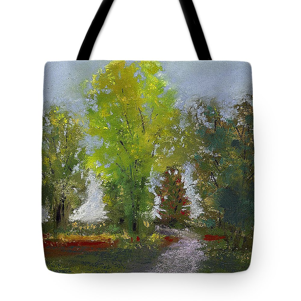 Painting Tote Bag featuring the painting Wildlife Refuge by David Patterson