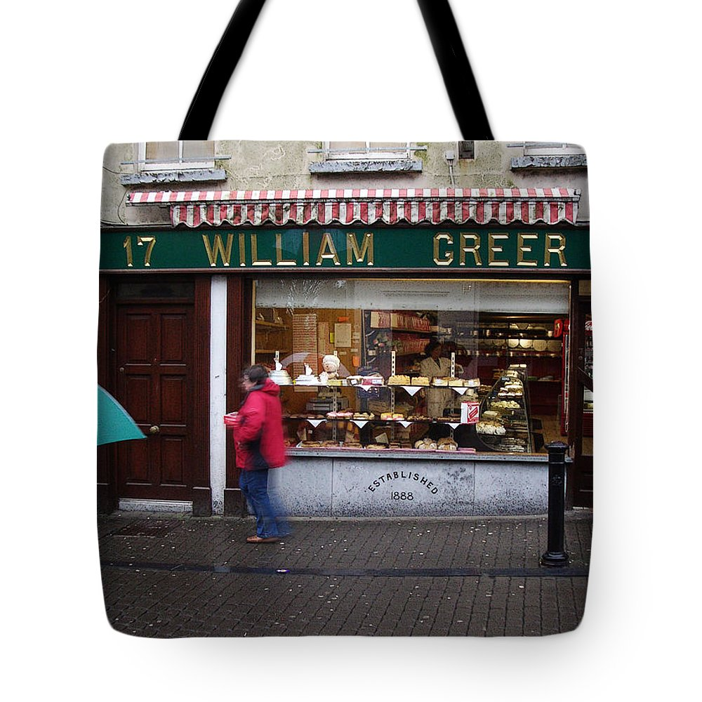 Ireland Tote Bag featuring the photograph William Greer by Tim Nyberg