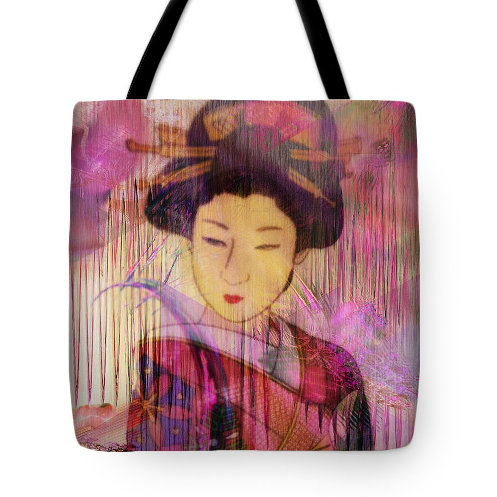 Willow World Tote Bag featuring the digital art Willow World by John Beck