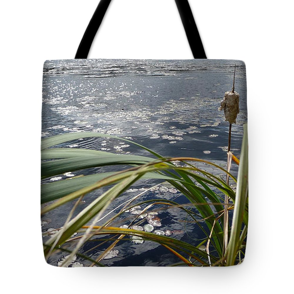 Nature Tote Bag featuring the photograph Wind And Water by Ruth Kamenev