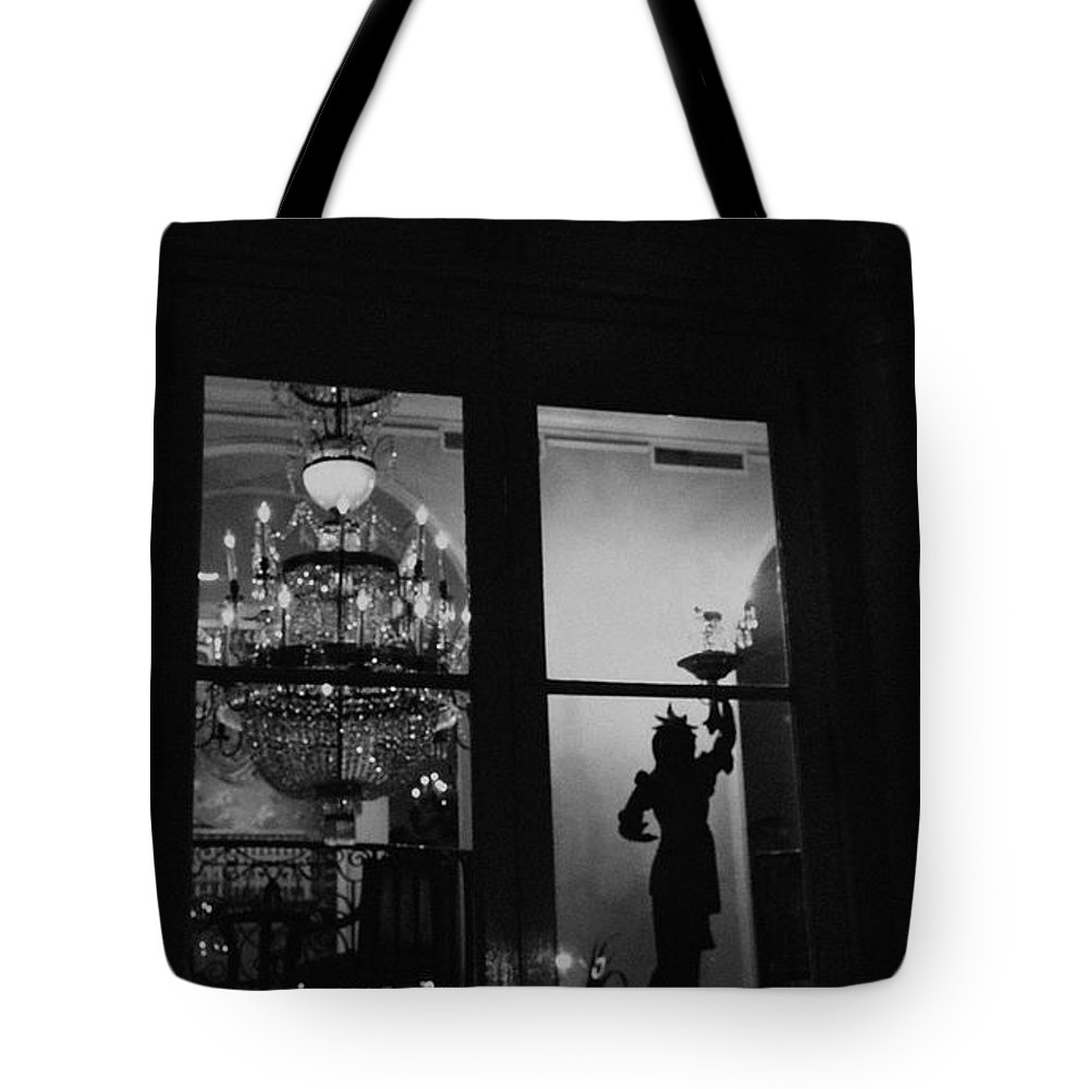 Street Tote Bag featuring the photograph Window Dressing by Robert McCubbin