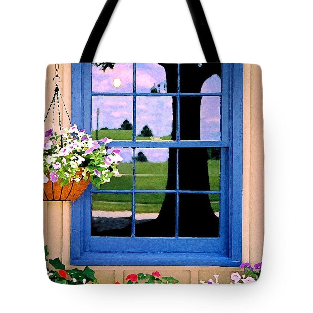 Still Life Tote Bag featuring the photograph Window by Steve Karol