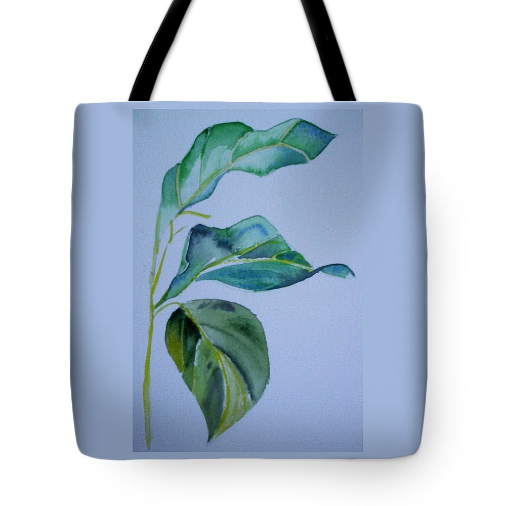Nature Tote Bag featuring the painting Window View by Suzanne Udell Levinger
