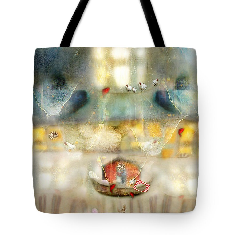 Windows Tote Bag featuring the photograph Windows And Openings by Karen Divine