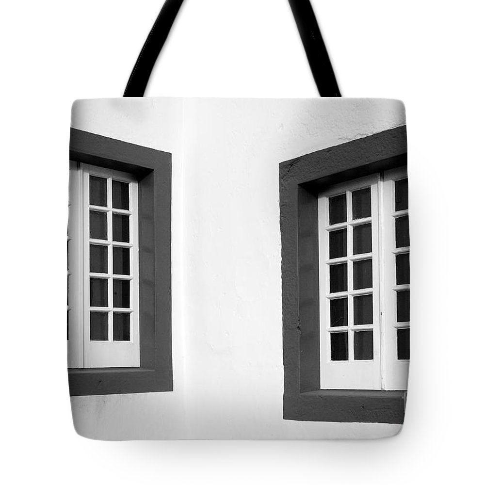 Azores Tote Bag featuring the photograph Windows by Gaspar Avila