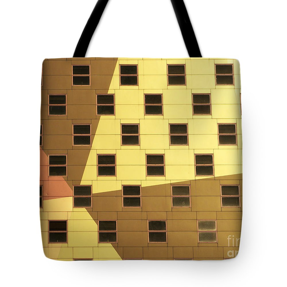Windows Tote Bag featuring the photograph Windows by Tony Cordoza