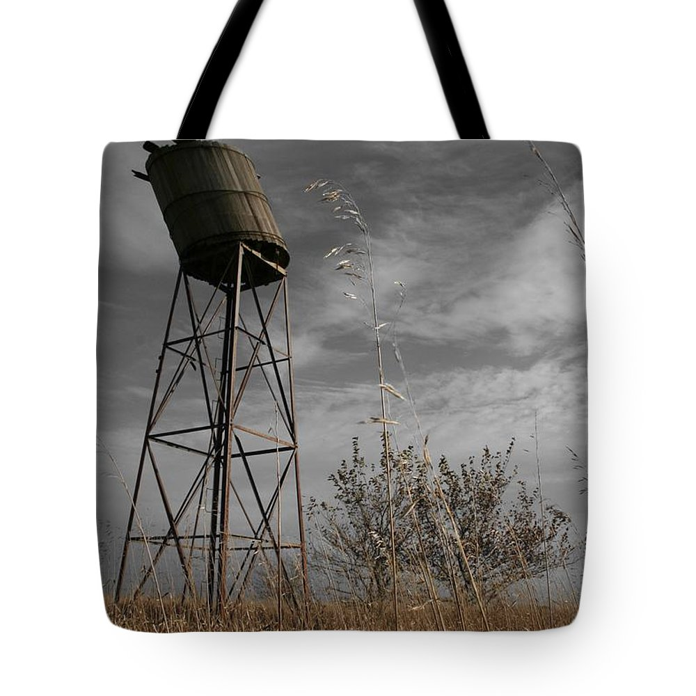 Landscape Tote Bag featuring the photograph Windswept by Dylan Punke