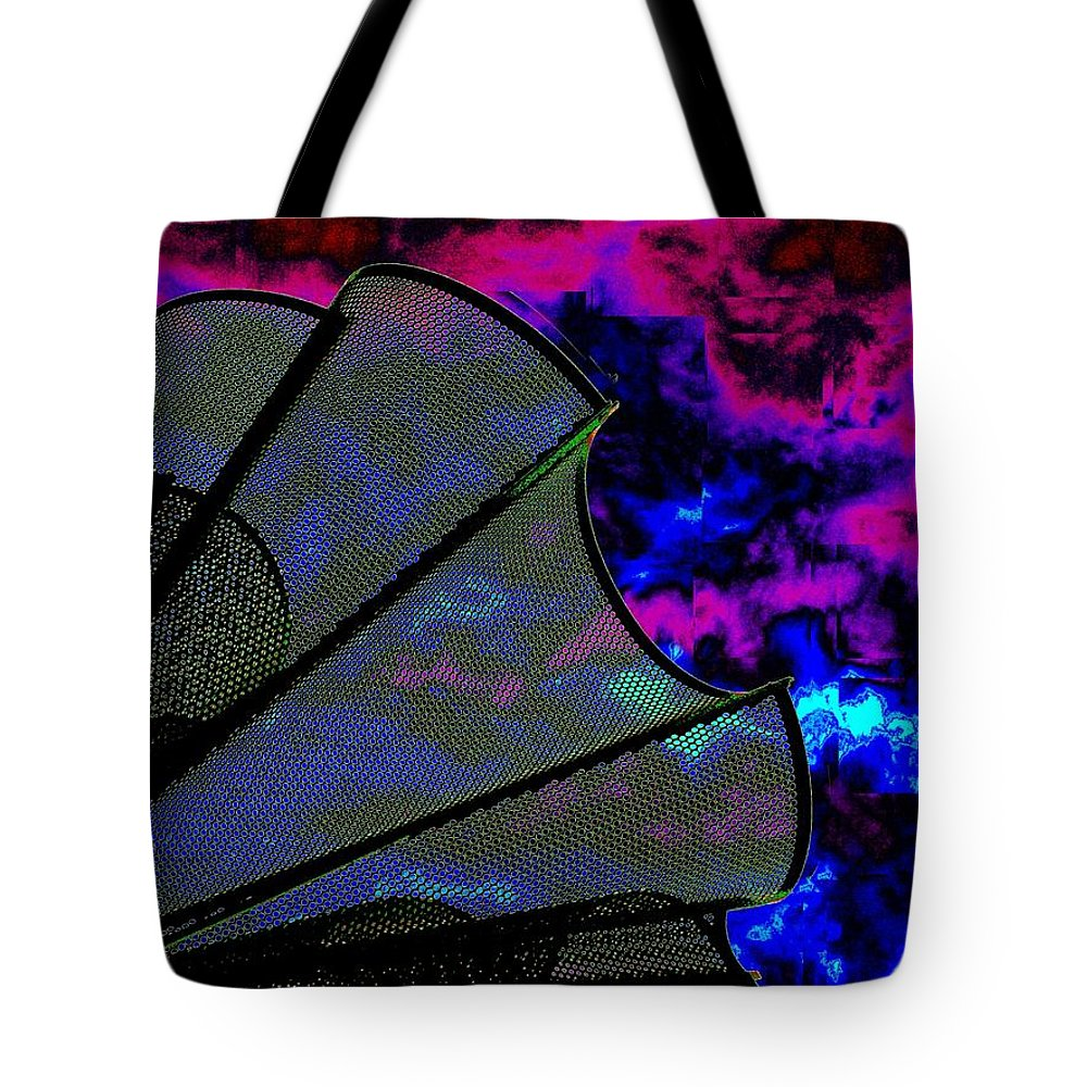 Wind Tote Bag featuring the photograph Windy 2 by Tim Allen