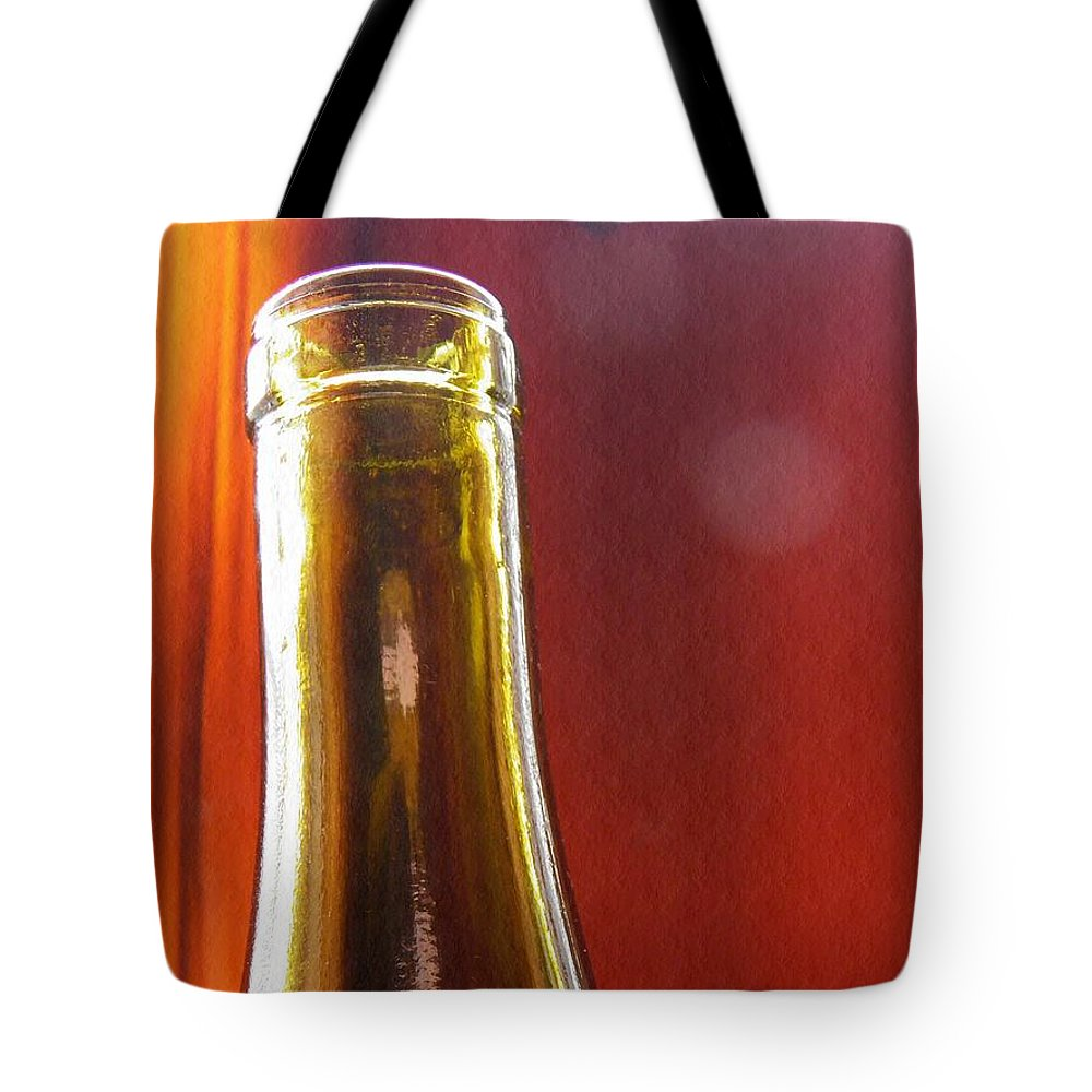 Bottle Tote Bag featuring the photograph Wine Bottles 4 by Sarah Loft