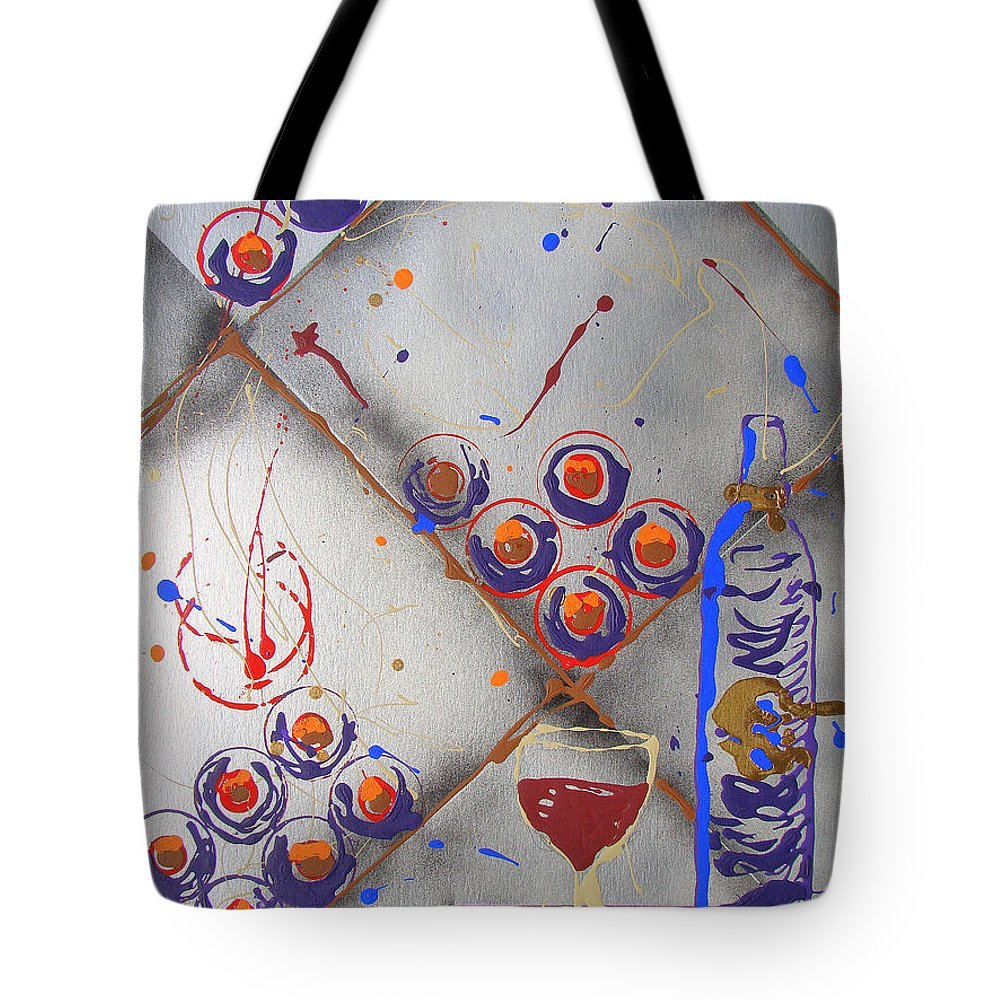 Wine Tote Bag featuring the painting Wine Connoisseur by J R Seymour