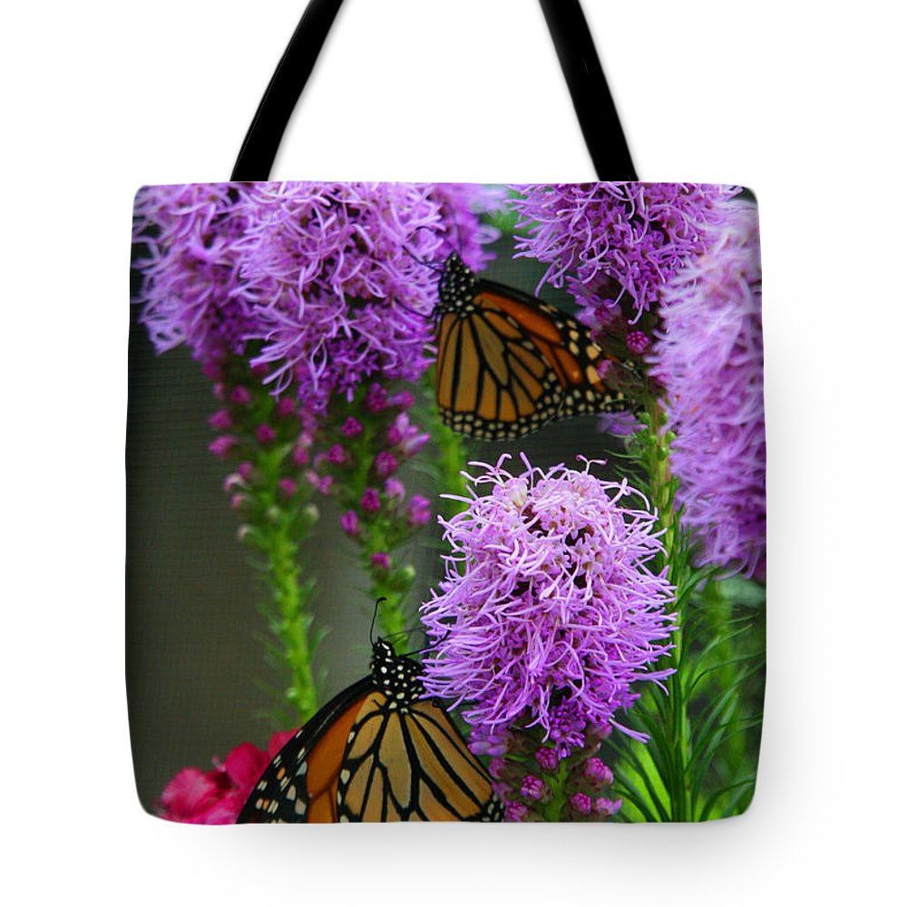 Nature Tote Bag featuring the photograph Winged Beauties by Crystal Nederman