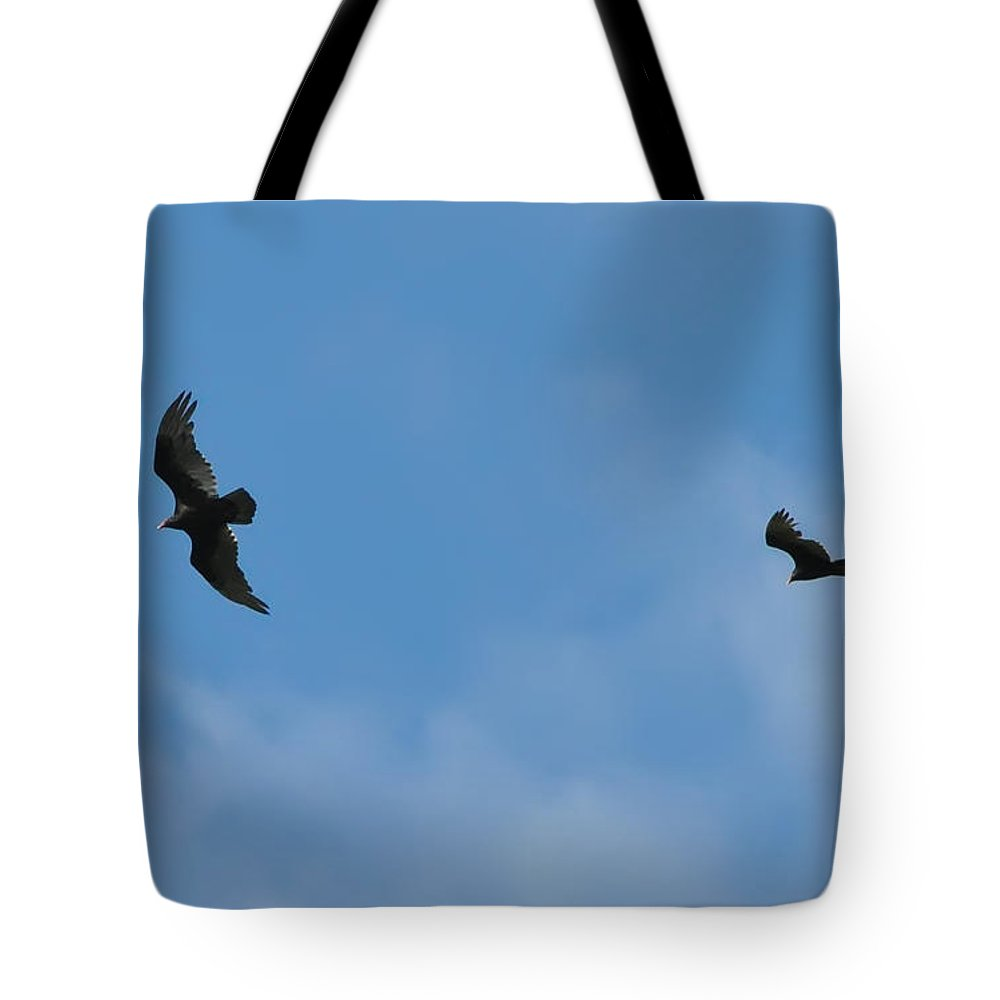 Hawks Tote Bag featuring the photograph Wingman by Bill Cannon