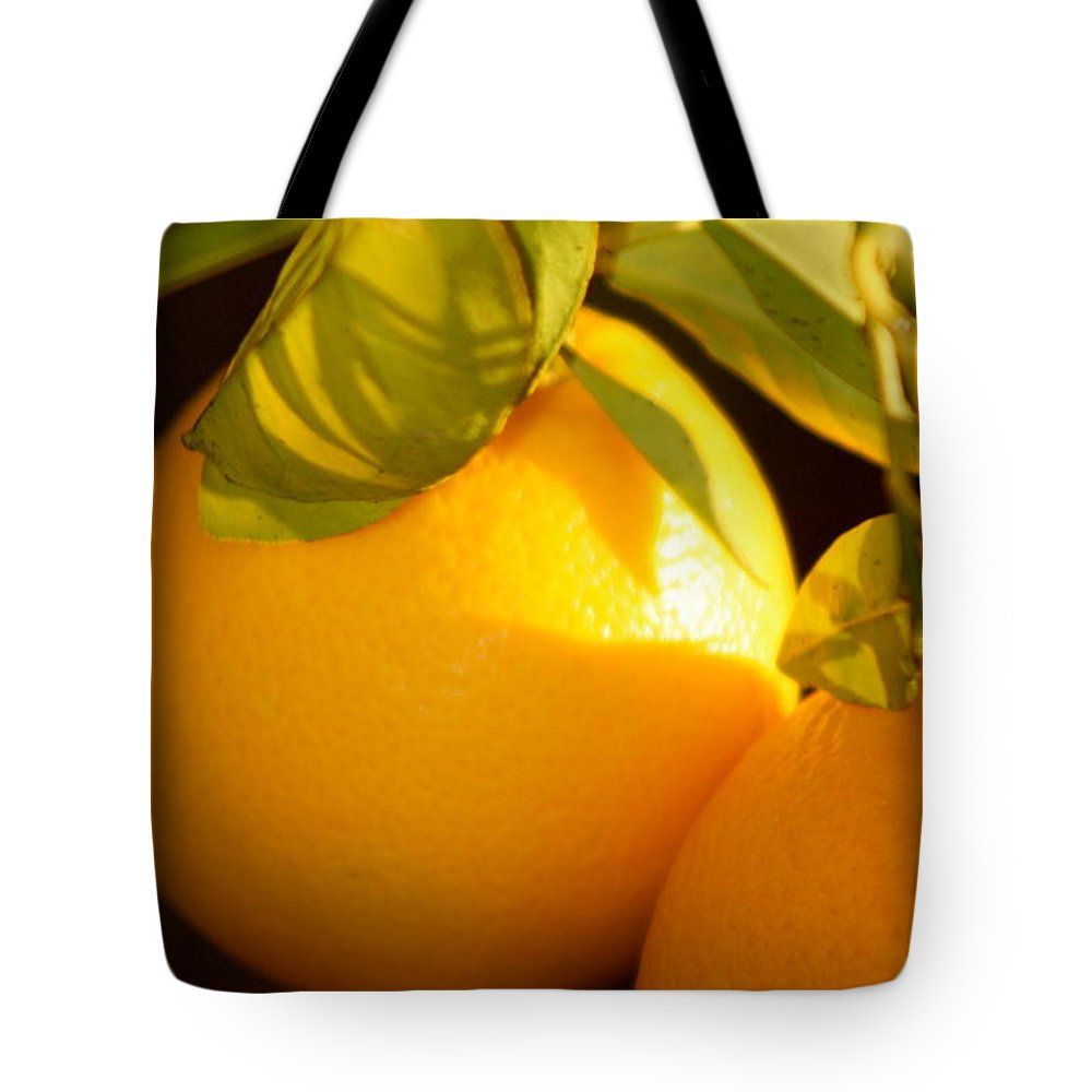 Fruit Tote Bag featuring the photograph Winter Fruit by Nadine Rippelmeyer