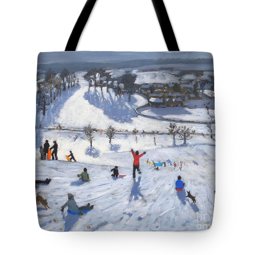 Ice Fields Tote Bags