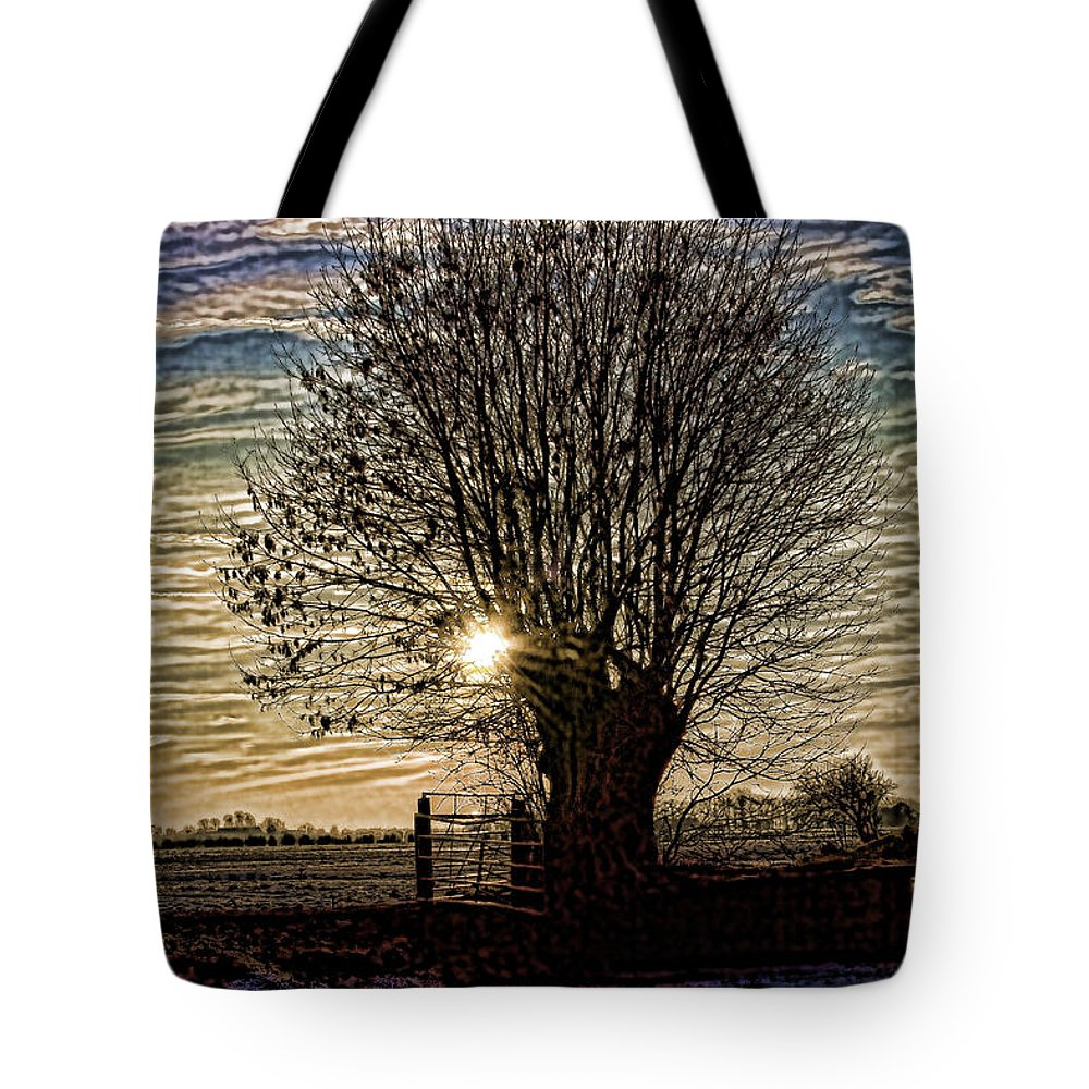 Dutch Tote Bag featuring the photograph Winter In Holland 3 by Casper Cammeraat
