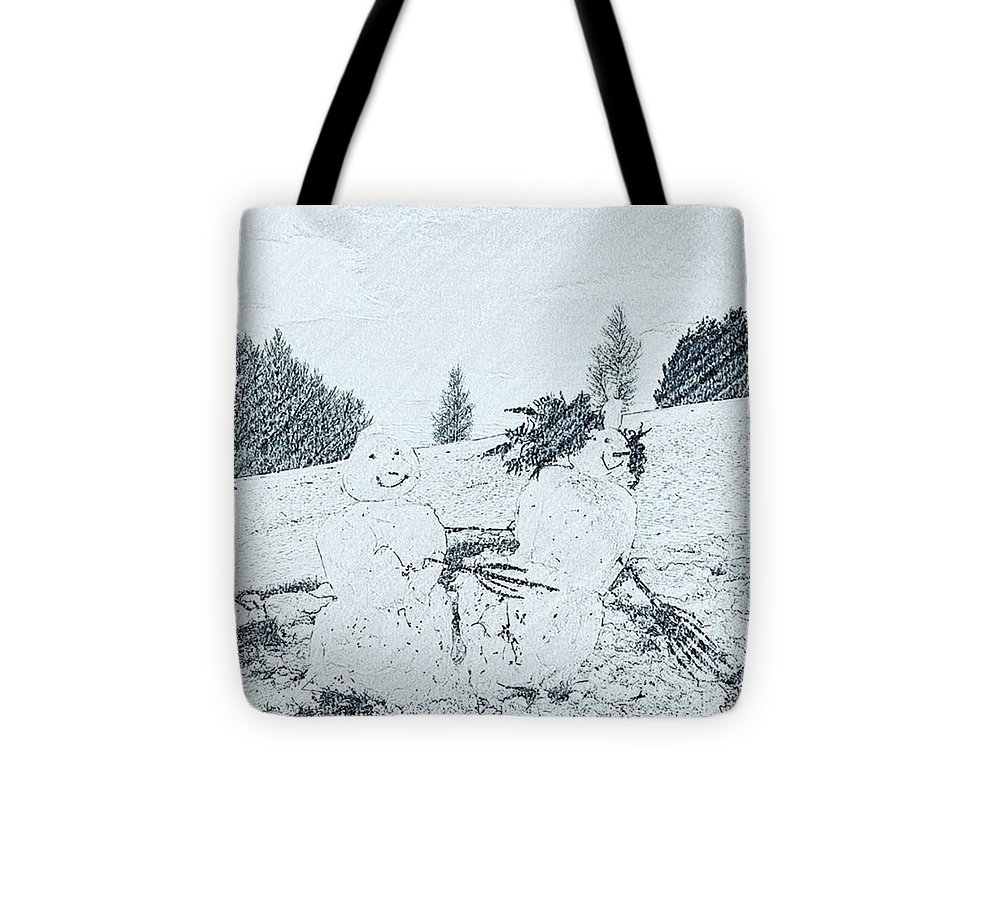 Winter Tote Bag featuring the photograph Winter Magic by Pastime Ideas