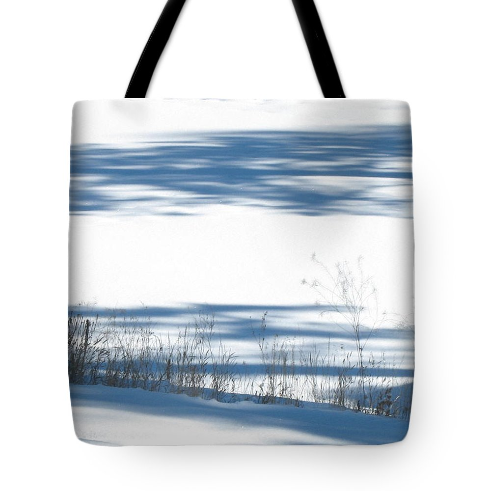 Winter Weeds Tote Bag featuring the photograph winter weeds SCN M 80 by Sierra Dall