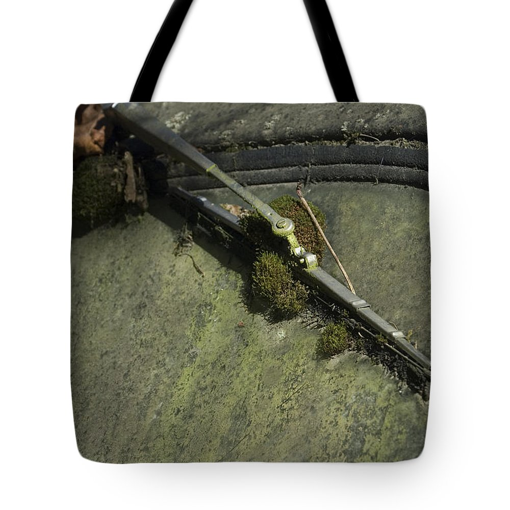 Wipe Tote Bag featuring the photograph Wiped Out by Sara Stevenson