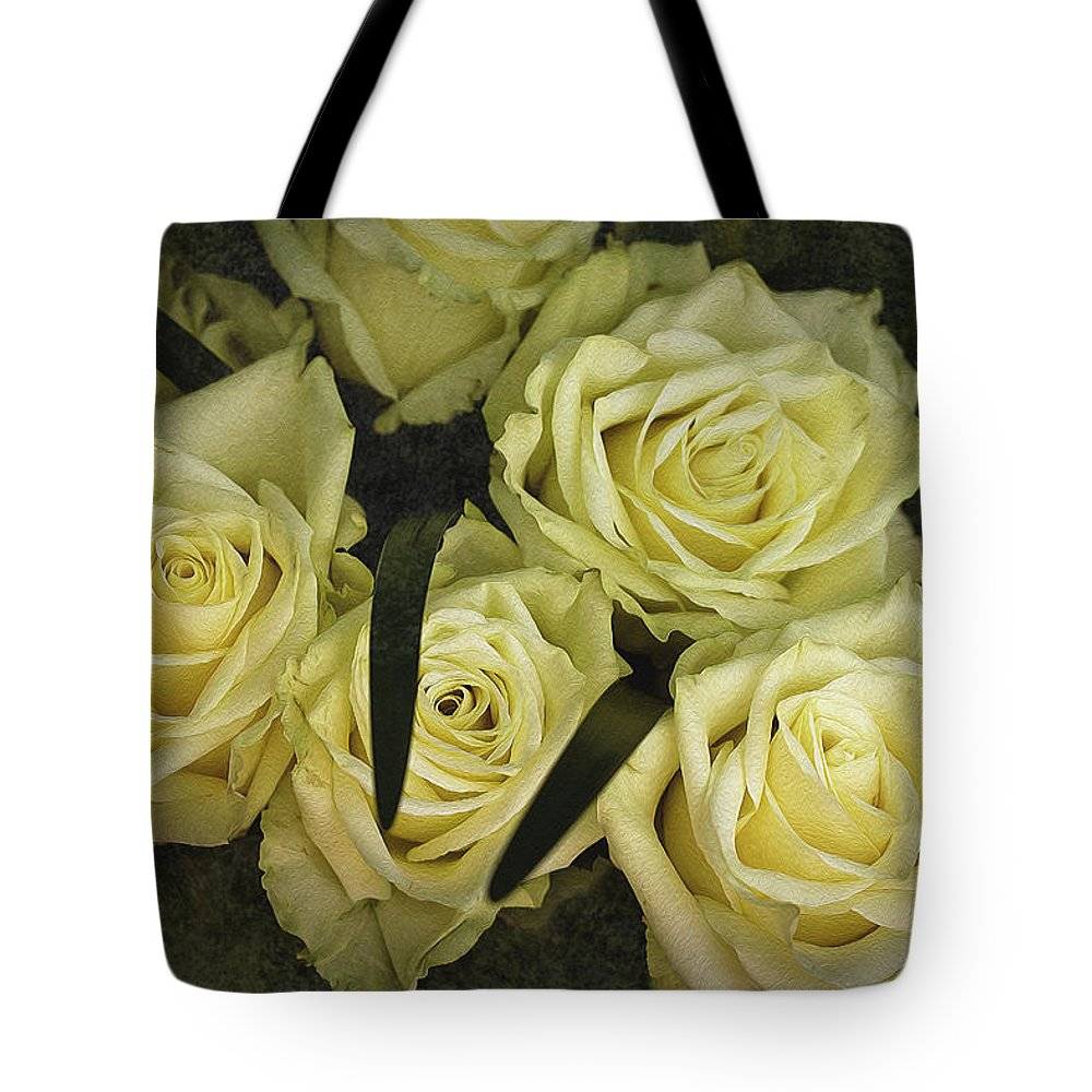 Rose Tote Bag featuring the photograph Wish For Happiness by Vanessa Thomas