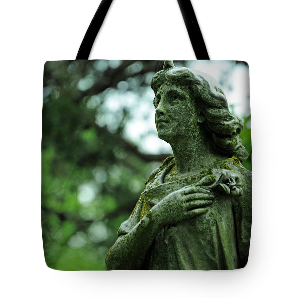 Cemetery Tote Bag featuring the photograph Wish Upon A Stardust by Rebecca Sherman