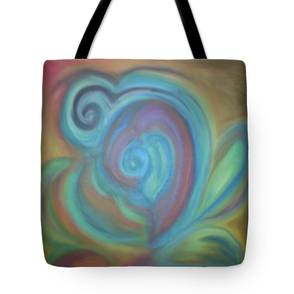 Tote Bag featuring the pastel Without Titel by Sitara Bruns