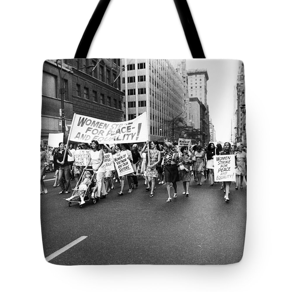 1970 Tote Bag featuring the photograph Womens Rights, 1970 by Granger