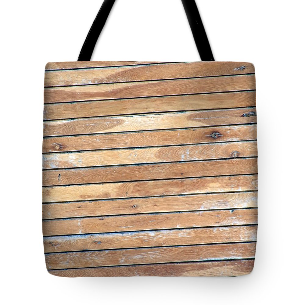 Wood Tote Bag featuring the photograph Wood Lines by Cliff Norton