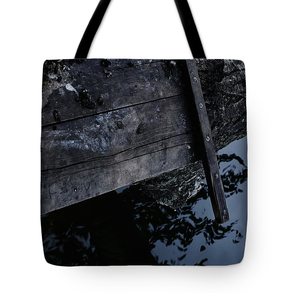 Wood Tote Bag featuring the photograph Wooden by Stanislav Martynov