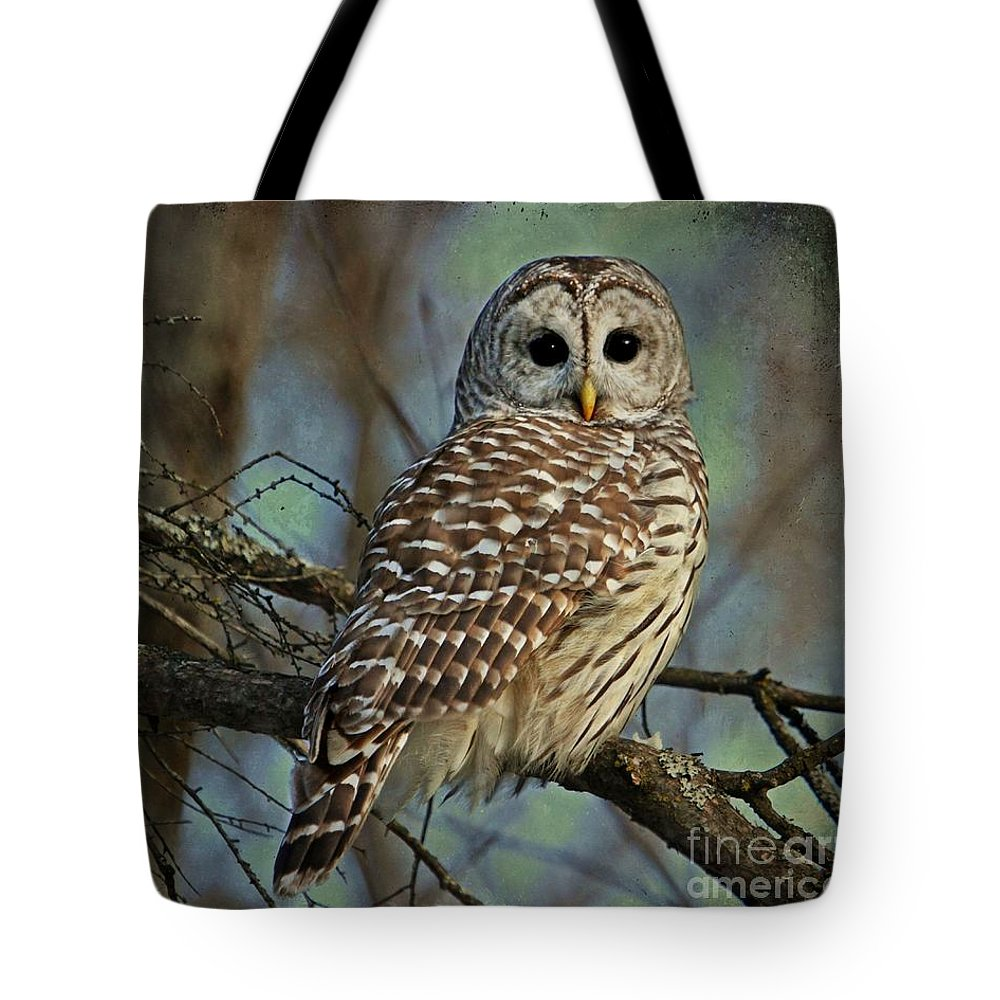 Tote Bag featuring the digital art Woodland Goddess by Heather King