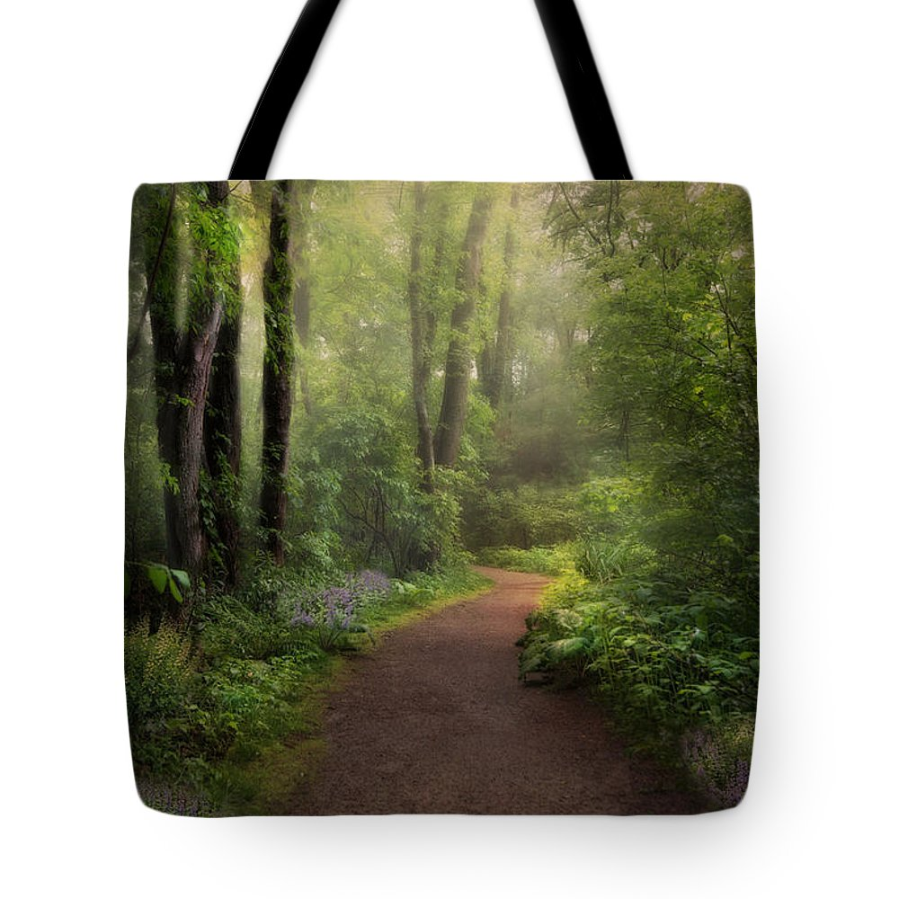 Nature Tote Bag featuring the photograph A New Spring by Robin-Lee Vieira
