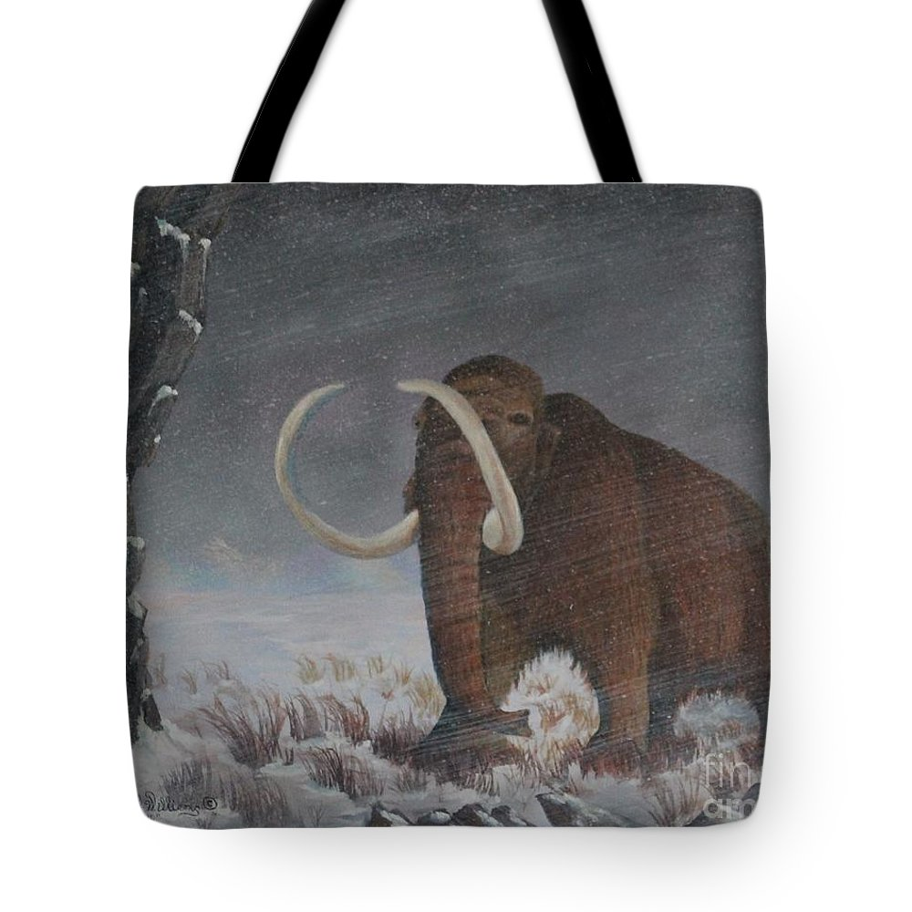Wooly Mammoth      10,000 Years Ago Tote Bag
