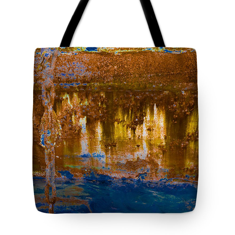 Photography Tote Bag featuring the photograph Works Of The Journey II18 by Andreas Theologitis
