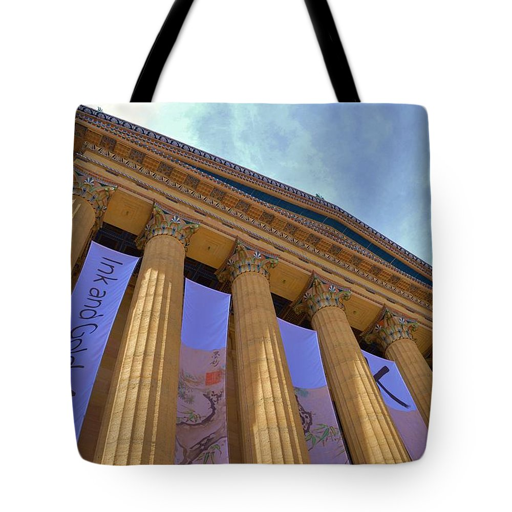Architecture Tote Bag featuring the photograph World Class by Marla McPherson