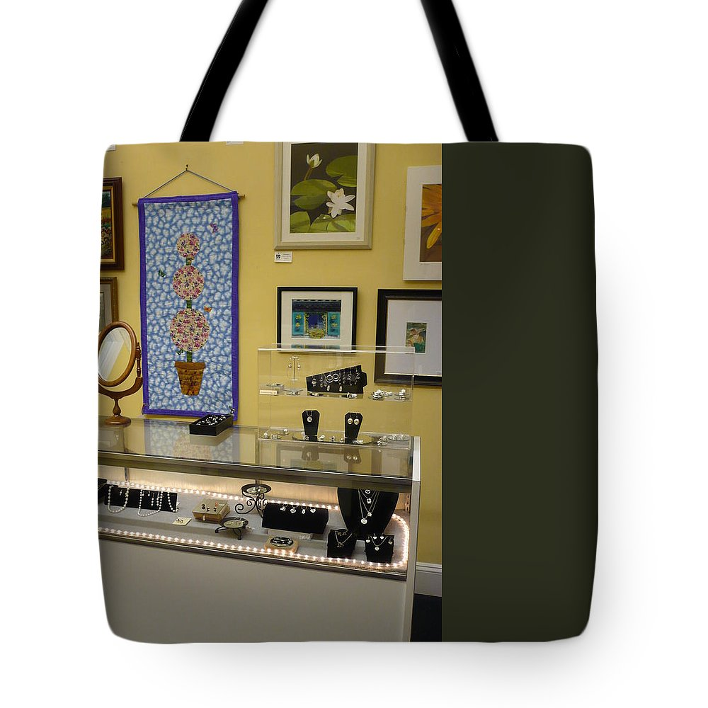 Oil Tote Bag featuring the painting World-view by Sergey Ignatenko